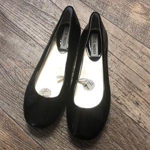Steve Madden black ballet flats slip on shoes 7.5